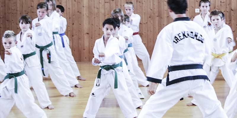 Kinder Taekwondo Bild
